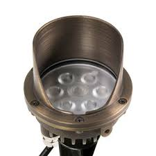 well lights in ground led landscape lighting volt lighting
