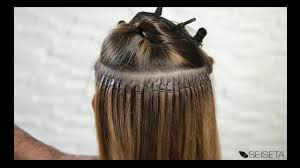 Pre Bonded Human Hair Extensions Uk by Flat Ring On Hair Extension System Youtube