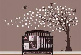 arbre chambre bébé stickers chambre bebe arbre meilleur idées de conception de maison