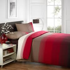 Red Bedding Dreams N Drapes Glide Bedding Set In Red U2013 Next Day Delivery