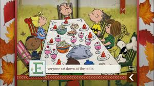 charlie brown thanksgiving gif peanuts thanksgiving wallpapers group 45