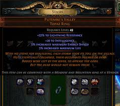 poe unique rings images Part of the new vendor recipe found in incursion y delve png