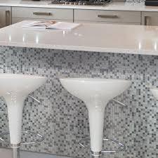 Decorative Wall Tiles Kitchen Backsplash Smart Tiles Minimo Noche 11 55 In W X 9 64 In H Decorative