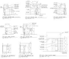 kitchen cabinets details cabinet detail drawing view wood cabinet details dwg