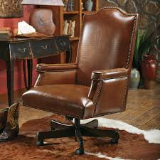 Leather Office Chair Baron Executive Chair With Croc Leather