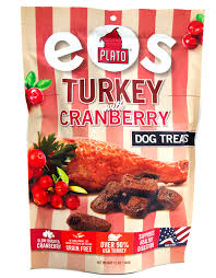 turkey with cranberry plato pet treats