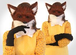Fox Halloween Costumes Homemade Halloween Fantastic Fox Wore