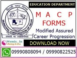modified assured career progression macp application forms mcd