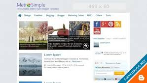 blogger metro simple free download blogger templates 2013