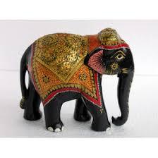 Elephant Home Decor Wooden Elephant Figurine Online Shopping India Buy Handicrafts