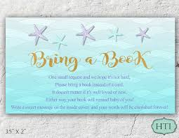 baby shower bring book instead of card baby shower bring a book instead of card mermaid the