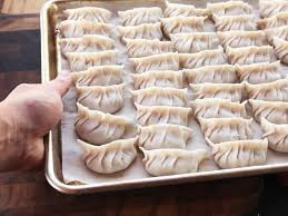 Japanese Wrapping Method by How To Make Japanese Style Pork And Cabbage Dumplings Gyoza