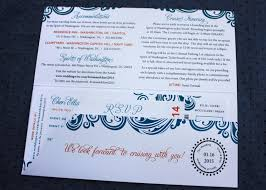 cruise wedding invitations cruise wedding invitations wedding corners