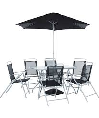6 seater patio furniture set buy pacific 6 seater patio furniture set at argos co uk your