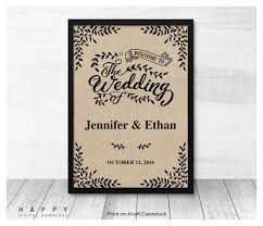 wedding welcome sign template wedding signs happy digital