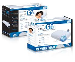 sensorgel pillows toppers u0026 mattresses gel infused memory foam