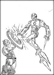 iron man coloring pages marvel characters printable coloring pages