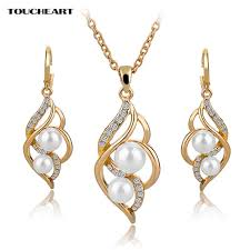 indian bridal jewelry necklace images Toucheart simulated pearl indian wedding jewelry sets for women bridal jpg