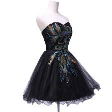 aliexpress com buy tulle ball gown embroidery peacock