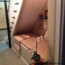 Stairs To Basement Ideas - under the stairs book nook hometalk