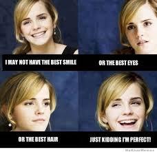 Emma Watson Meme - emma watson perfect weknowmemes