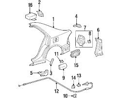 lexus is300 parts diagram parts com lexus cable s a fuel lid partnumber 7703553020
