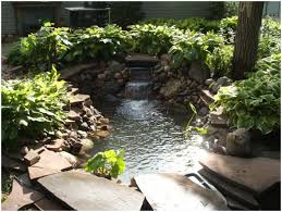 backyards amazing backyard pond kit pond kits home depot canada