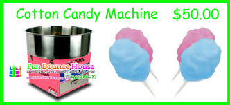 cotton candy machine rental concession machine rentals in coral springs bounce house