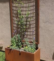 trellises u0026 planters u2013 johansen fence u0026 gate