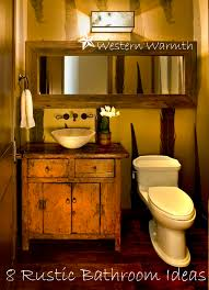 Rustic Bathroom Decorating Ideas Half Bathroom Decorating Ideas Pinterest House Decor Picture