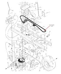 i need a diagram of the drive belt on a murray 42590x92
