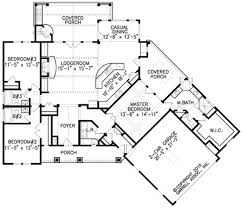 ranch home designs floor plans house plan modern design of hillside house plans for your cool