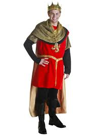 Halloween King Costume Red Regal King Costume Classic King Costume