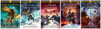book review the heroes of olympus series by rick riordan i was