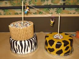 adults can zip line cakes zoo safari themed birthday