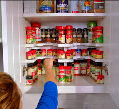 Spice Cabinet Organization Spicy Shelf Helps Organize Spice Cabinets Medicine Cabinets And More