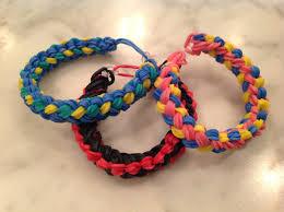 looms bracelet instructions images Double braid rainbow loom bracelet advanced jpg