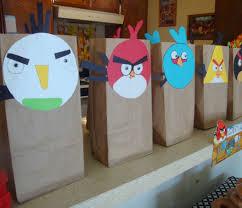 goody bag ideas angry birds goody bags and donut tower living mi vida loca