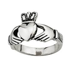 mens stainless steel rings claddagh ring s s2950 mens stainless steel made in ireland