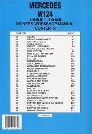 mercedes repair manuals back cover mercedes repair manual mercedes owner s