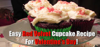 a super easy red velvet cupcake recipe for valentine u0027s day real
