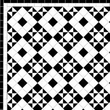Border Floor Tiles Box U0026 Star Two Line Border U2014 Mosaics By Post