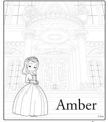 laminas para colorear coloring pages la princesita sofia para