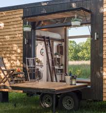 used roll up garage doors for sale tricked out tiny home features garage door and custom deck curbed