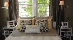 queen bed pillows how to style your bed with pillows real houses of the bay area