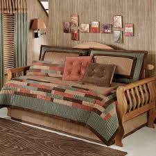 bedroom interesting daybed covers with striped pillows