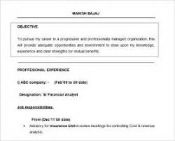 resume format for freshers mba free download