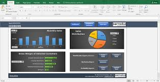 Excel Template Dashboard Sales Report Template Excel Dashboard For Sales Managers