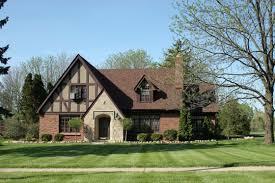 English Tudor Home This Romantic Home Style Evokes A Sense Of Old England American