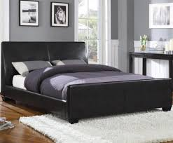 Black Leather Bedroom Furniture by Headboards Bedding Furniture Black Leather Headboard King 101